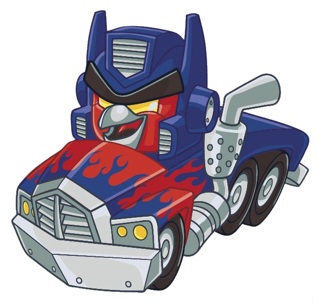Transformers Optimus Prime Truck Drawings Optimus Prime Red Truck 2
