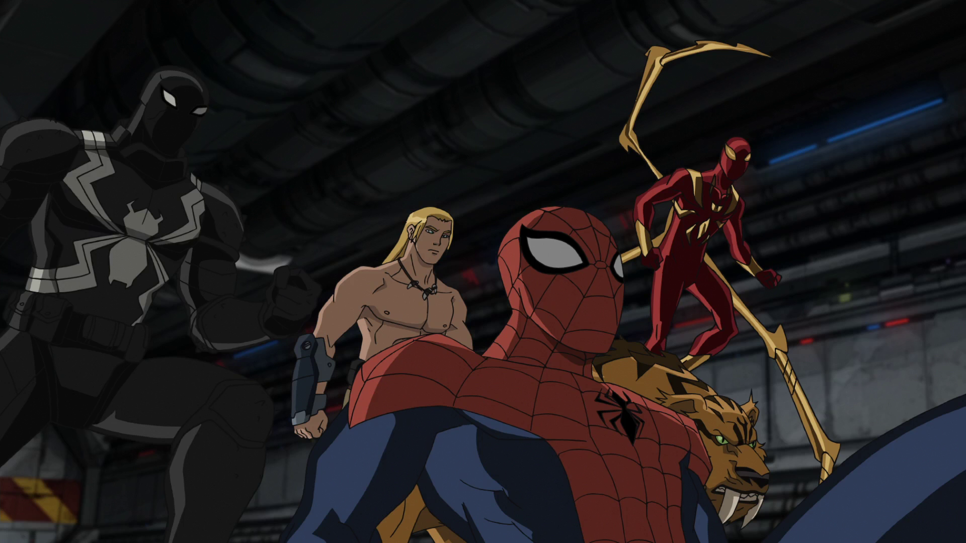 Image - Spider-Man Ka-Zar Iron Spider Agent Venom Zabu USMWW 1.png ...