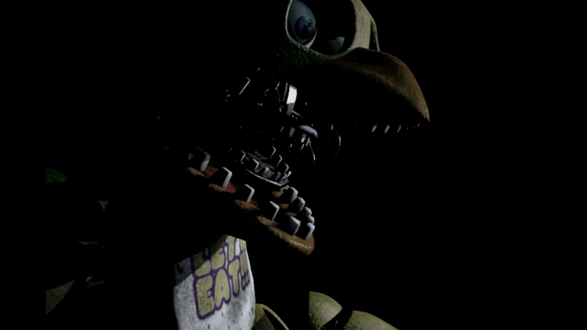Chica close up fnaf 2 png five nights at freddy s wiki wikia