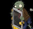Fliegengitter-Zombie