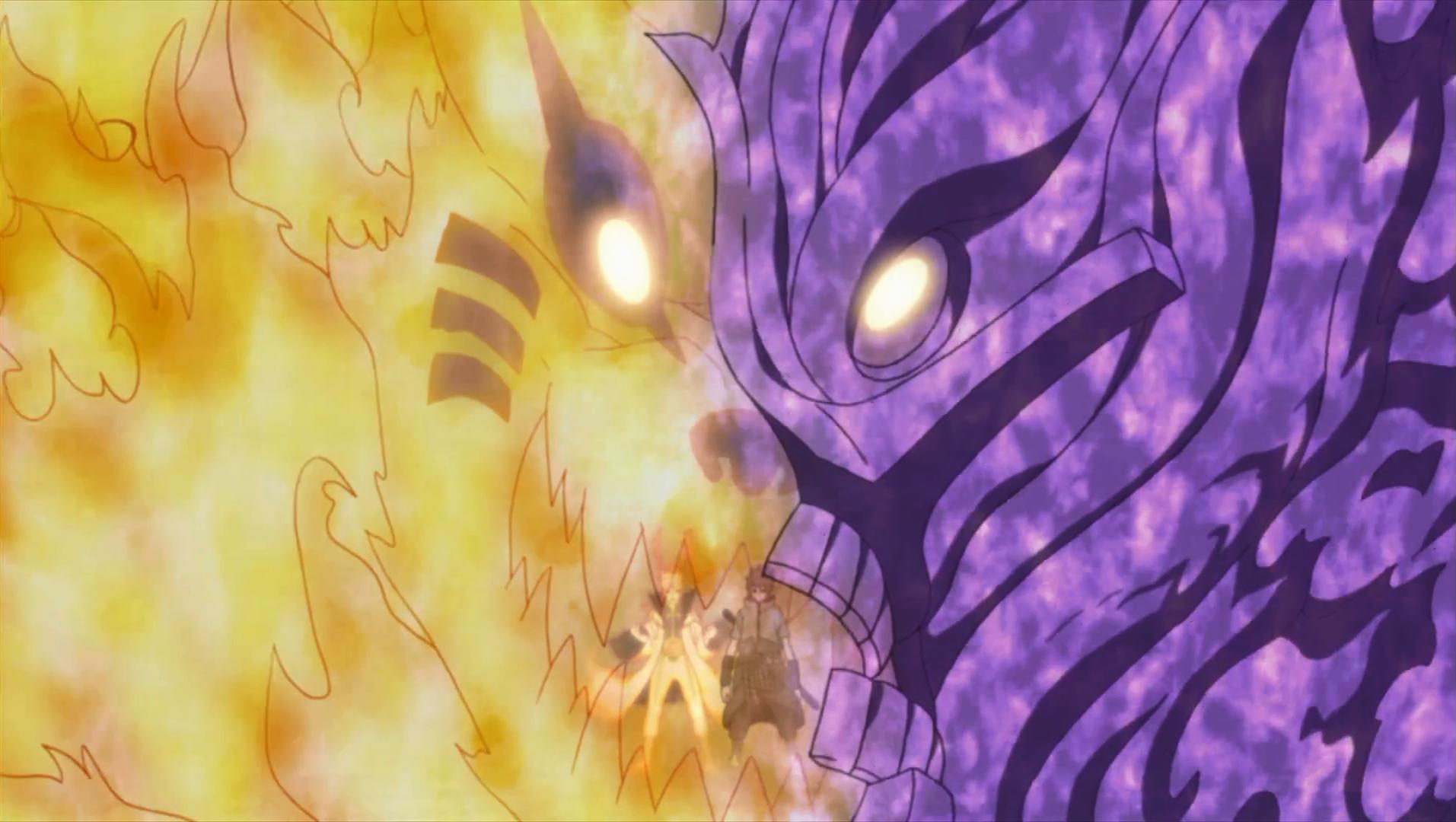 Sage Mode Naruto vs Mangekyo Sasuke : whowouldwin