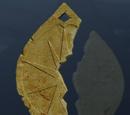 2. Medaillonhälfte, die Zwei Bäume von Valinor