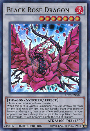 Are yu gi oh black rose dragon Between speaking
