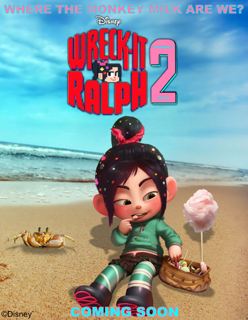 Wreck-It Ralph 2 - Fan Fiction Wiki - You can write and show your own