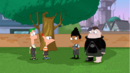 Second dimension Phineas and the gang in the backyard.png