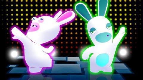 "RABBIDS LAND (MUSIC) ""DUCKY PADDLE"" Wii U 1080p"