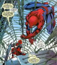 Peter Parker (Earth-616) and Wade Wilson (Earth-616) from Cable & Deadpool Vol 1 24 0001.png