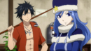 Gray and Juvia at the billiard.png