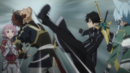 Kirito getting Klein to be quiet.png