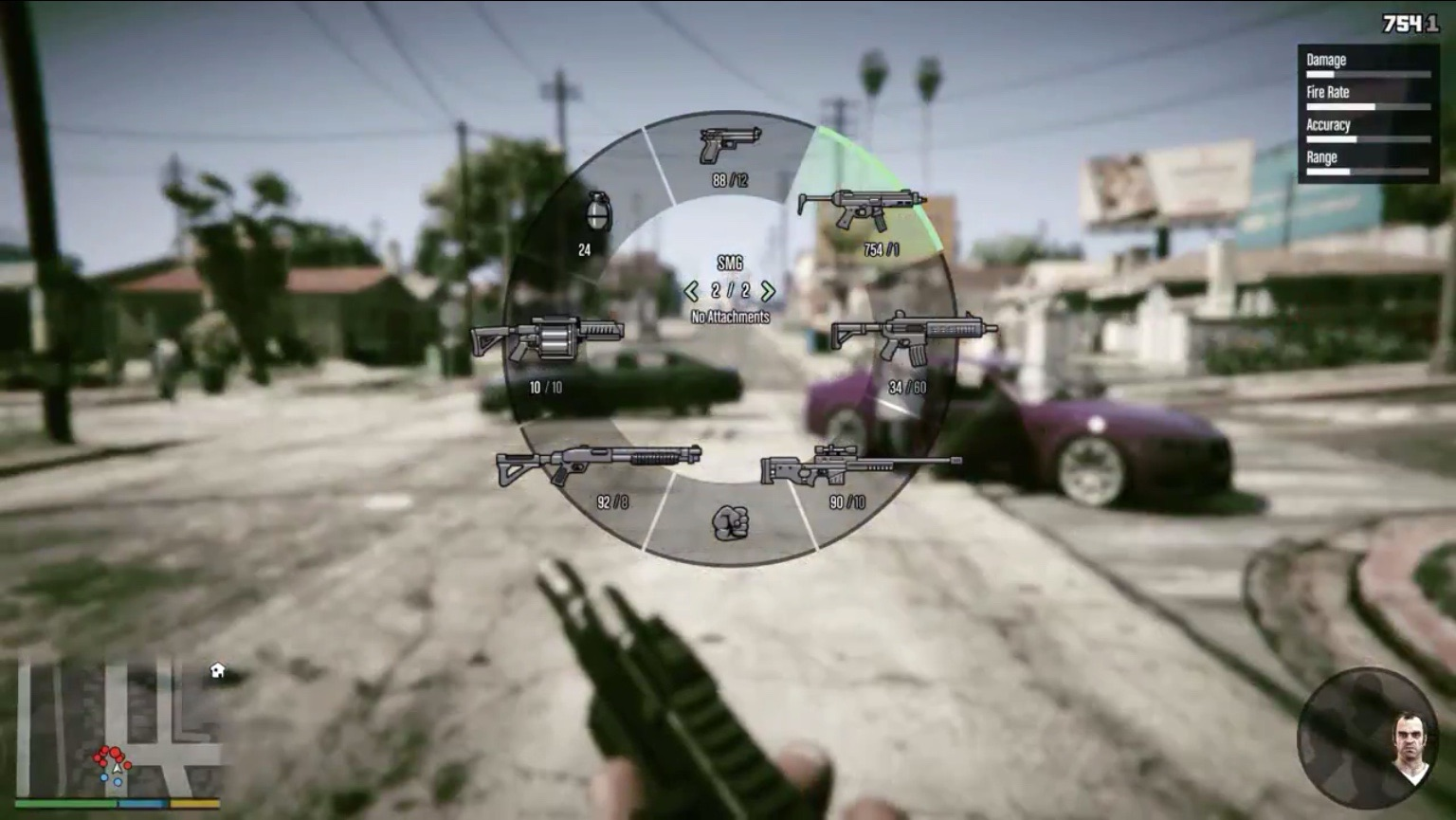Weapon Wheel - GTA Wiki, the Grand Theft Auto Wiki - GTA ...