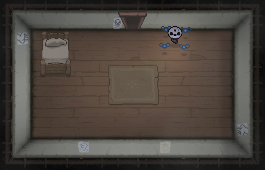 Binding Of Isaac Room With Bed