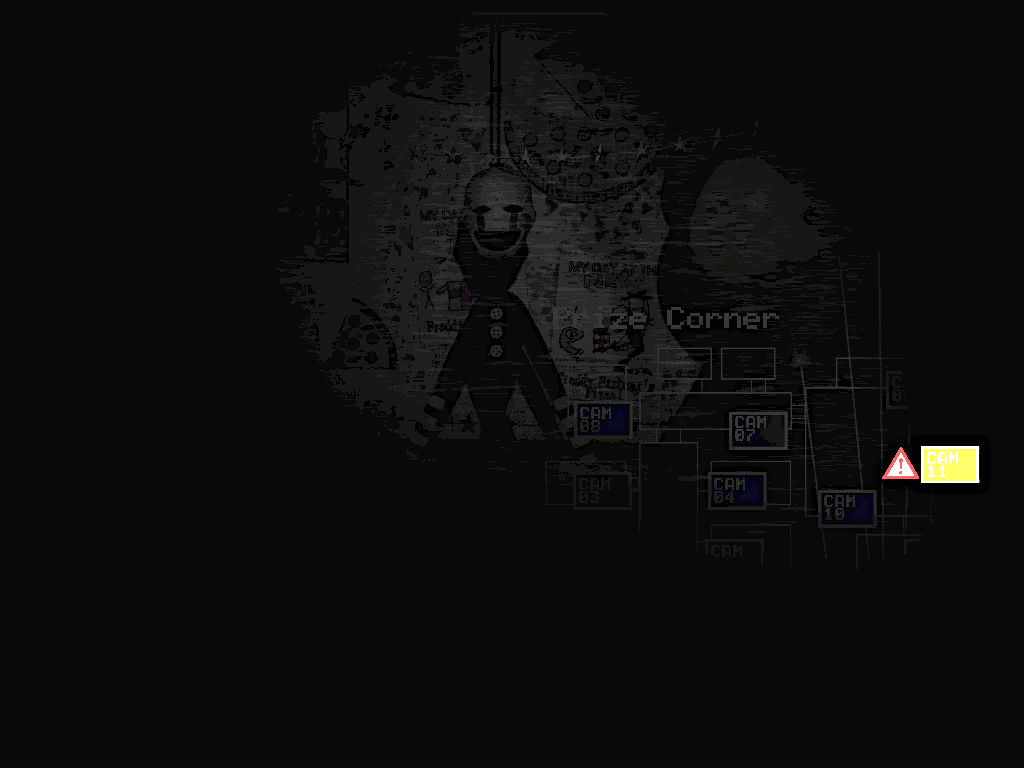 Showing picture the marionette fnaf 2 by