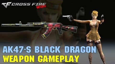 CrossFire - AK47-S Black Dragon - Weapon Gameplay