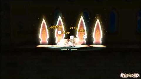 Elsword - Magic Knight Skill Rising Slash