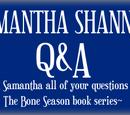 Asnow89/Samantha Shannon Q&A