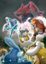 Legendary Trios and Zoroark - Pokemon Black and White.jpg