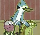 Fantasmas de Mordecai y Rigby