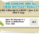 Did Someone Hide All These Bottles? Really?!