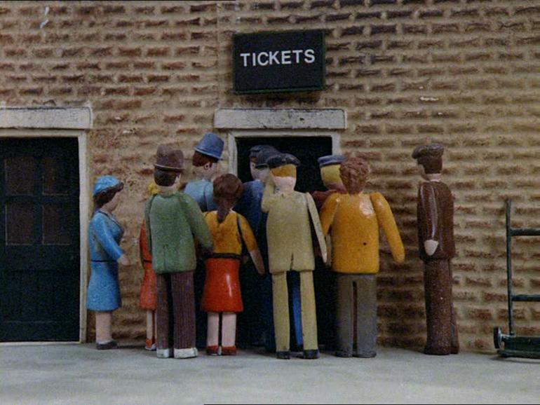 第1シーズンのノース・ウェスタン鉄道の乗客
