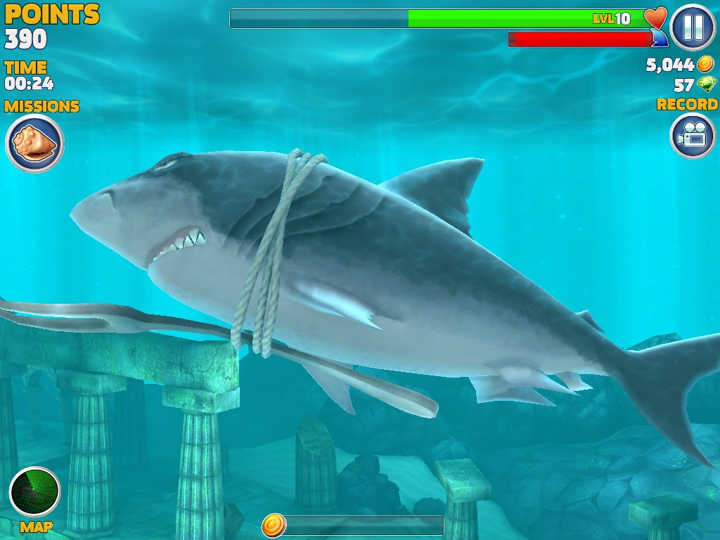 Megalodon - Hungry Shark Wiki