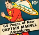 Captain Marvel Adventures/Covers