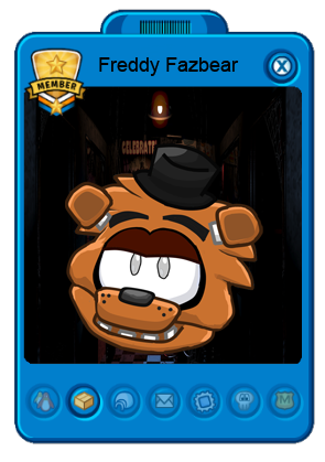 Fondo de card freddy fazbear puffle fnaf png club penguin wiki