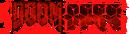 DooM Logo Glitch Red.png