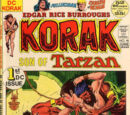Korak Son of Tarzan/Covers