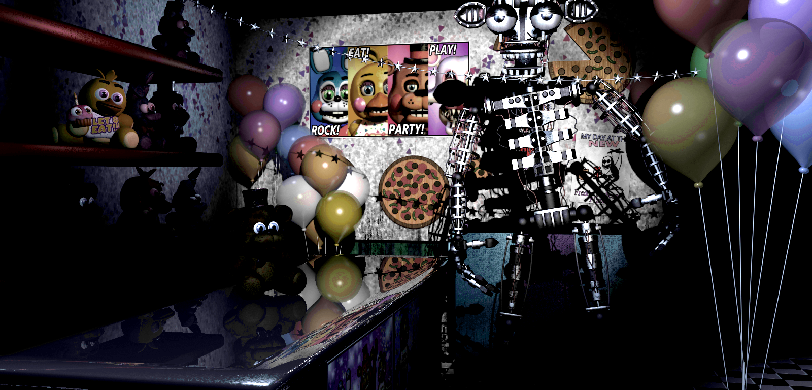 Fnaf 2 takes place before fnaf 1 five nights at freddy s wiki