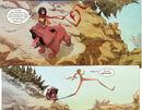 Kamala Khan (Earth-616) and Lockjaw (Earth-616) from Ms. Marvel Vol 3 8 001.jpg