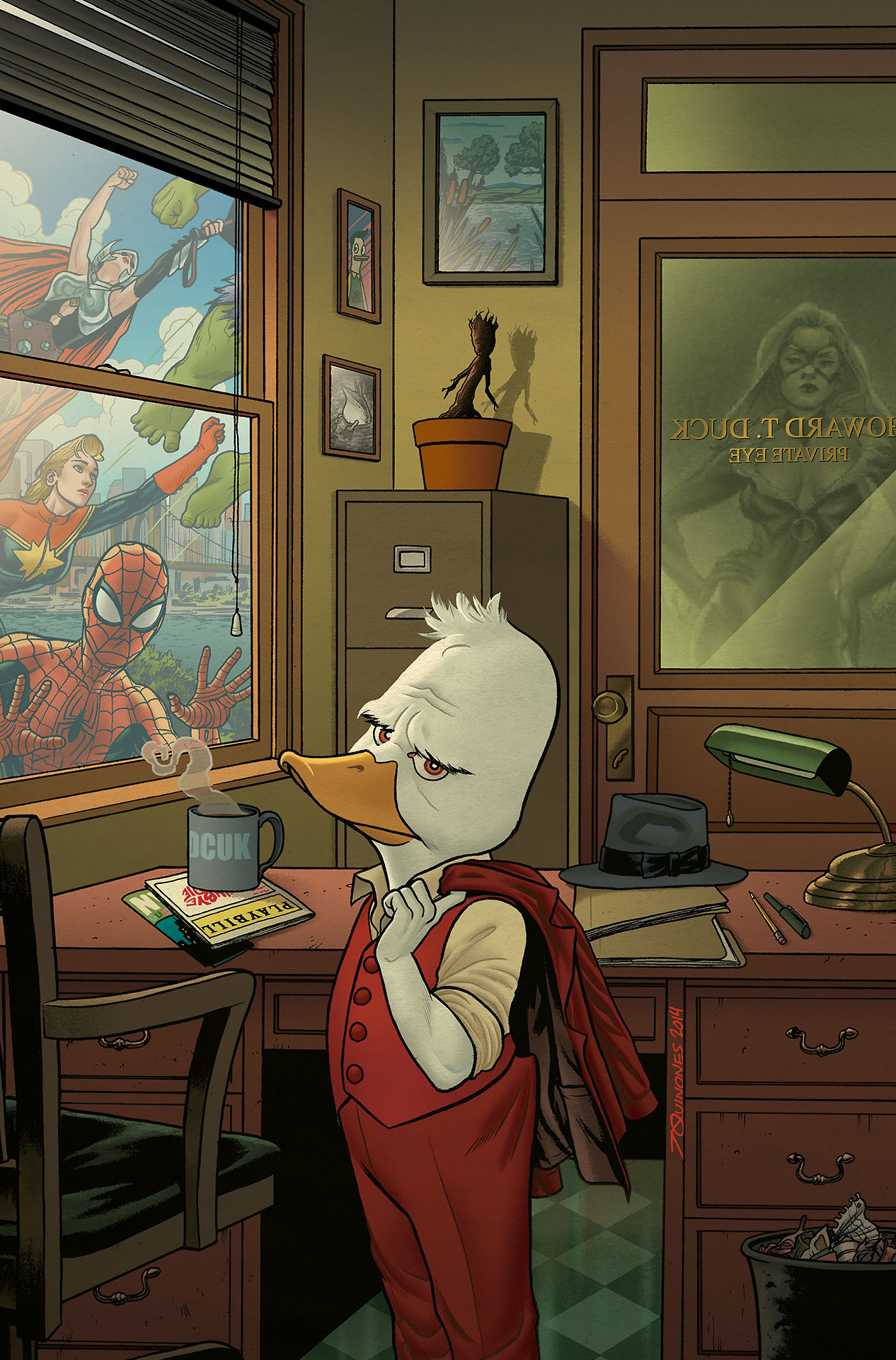 Howard the Duck Vol 5 1 Textless