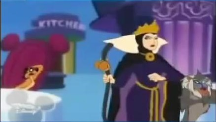 Snow white queen hunter toon porn