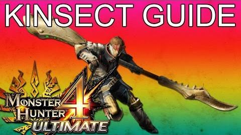 Monster Hunter 4 Ultimate - Kinsect Upgrade Guide Tutorial (Insect Glaive)