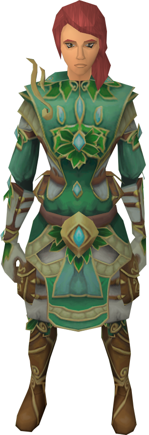 Newest furthermore Prifddinian worker's trousers together with Zaros also Marimbo together with File Seren god statue concept. on seren symbol runescape