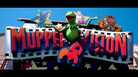Muppet Vision 3D Area Music Loop