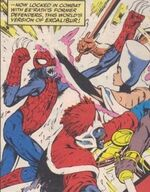 Peter Parker (Earth-148) from Excalibur Vol 1 46