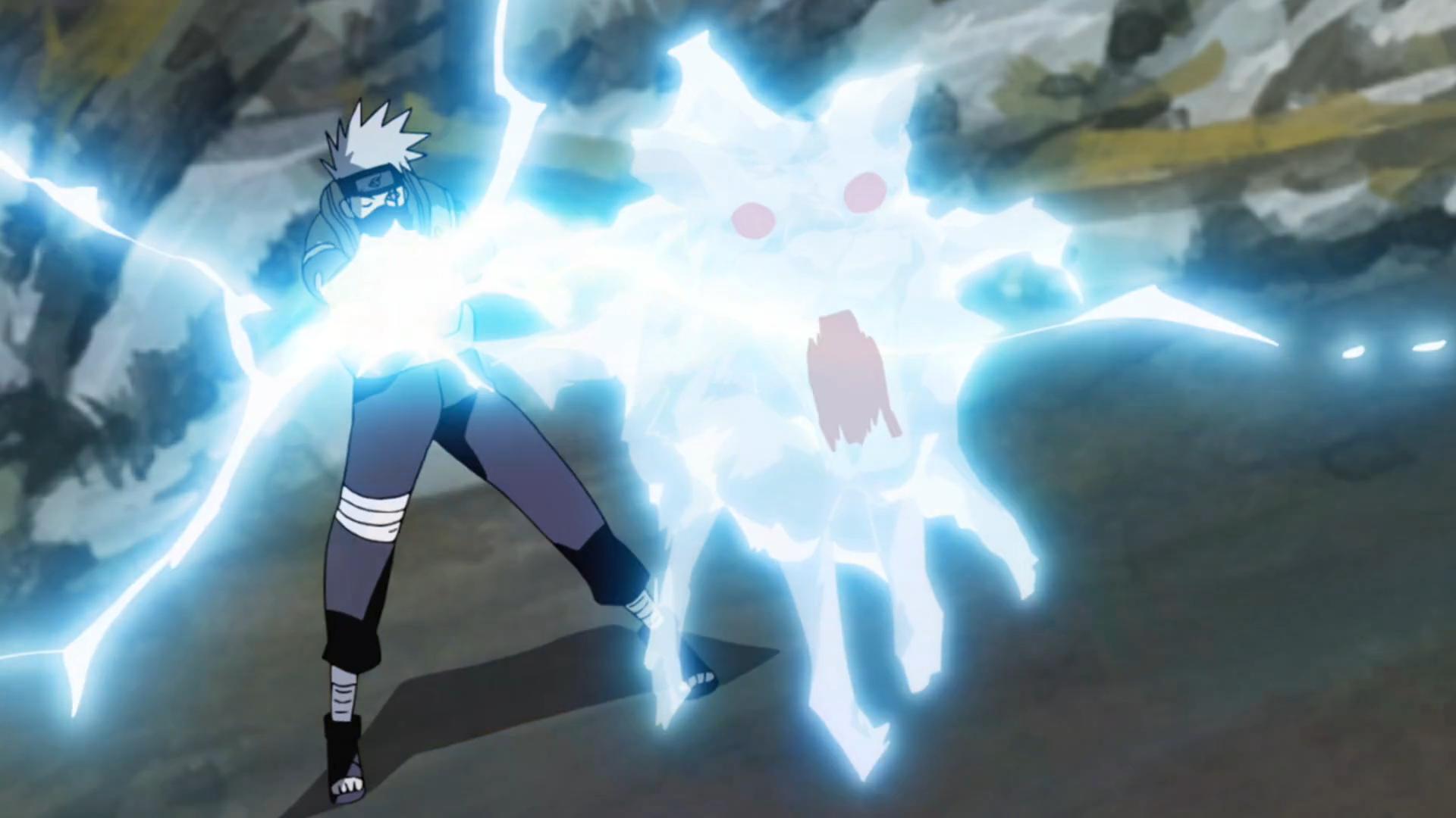 Kotetsu's Lightning.Jutsu LightningHound