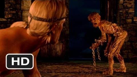 Pelea de Beowulf contra Grendel (película 2007) HD