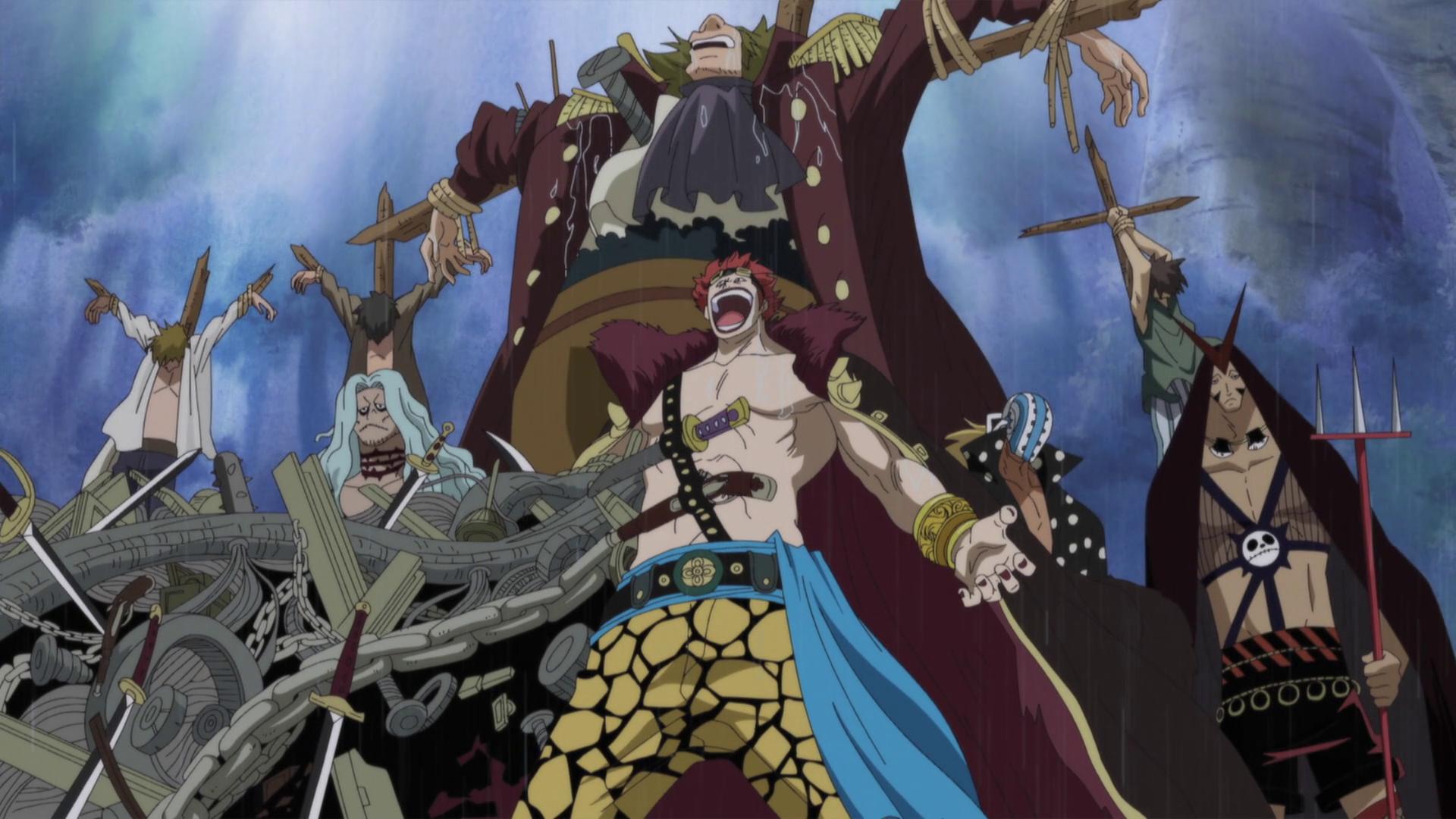Eustass Kid - The One Piece Wiki - Manga, Anime, Pirates ...
