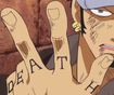 Law's Finger Tattoos