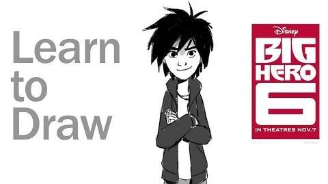 Cómo dibujar a Hiro y Baymax