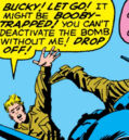 Steven Rogers (Earth-616) Just before the drone plane exploded in 1945 from Avengers Vol 1 4.jpg
