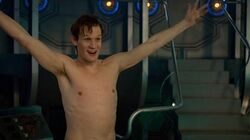 Naked Christmas - Doctor Who - The Time of the Doctor - BBC