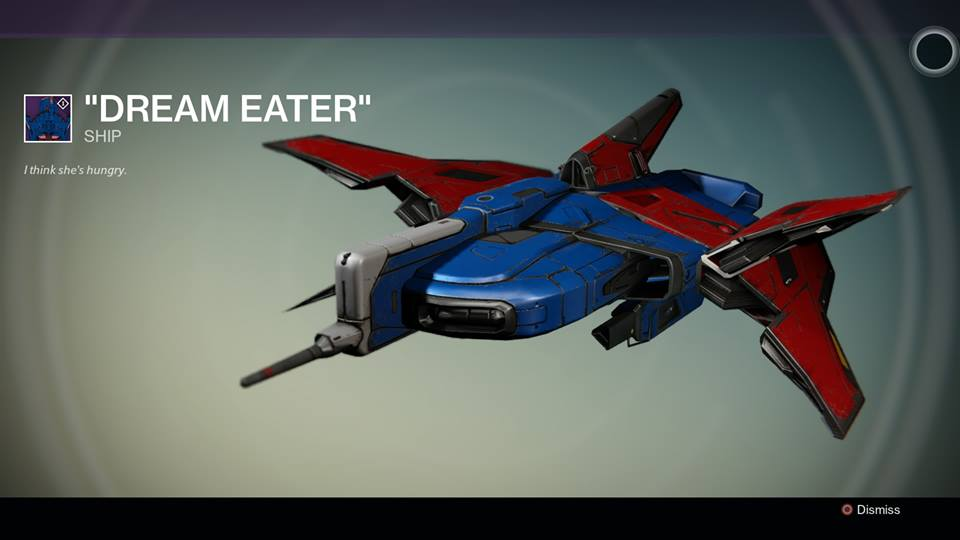Dream eater quot destinypedia the destiny wiki destiny bungie
