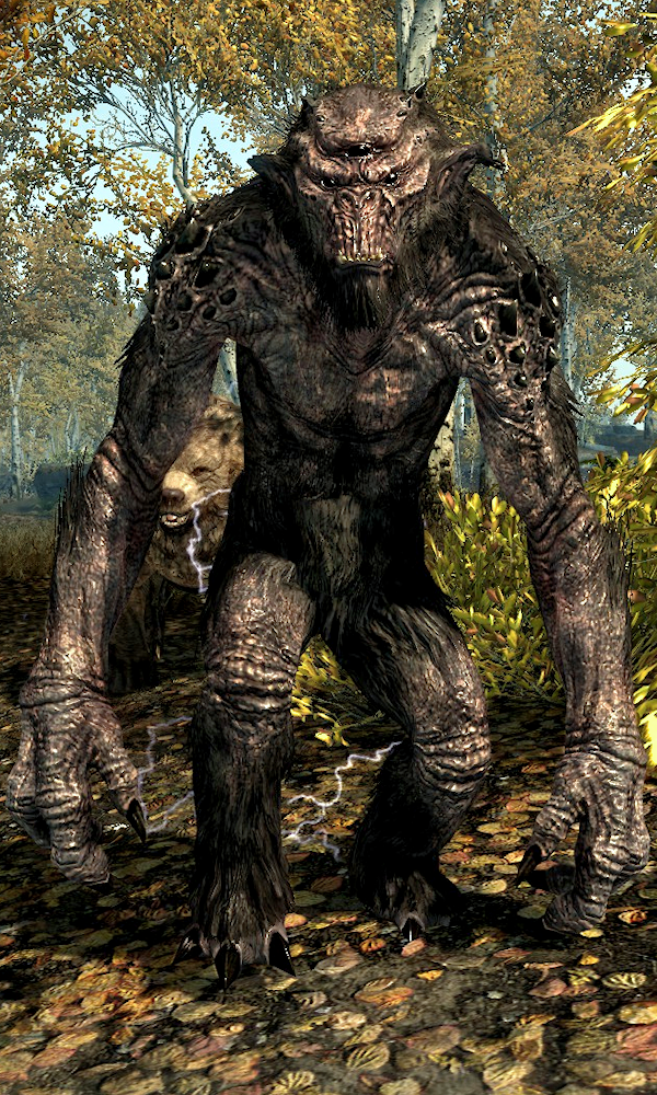 Troll Skyrim The Elder Scrolls Wiki