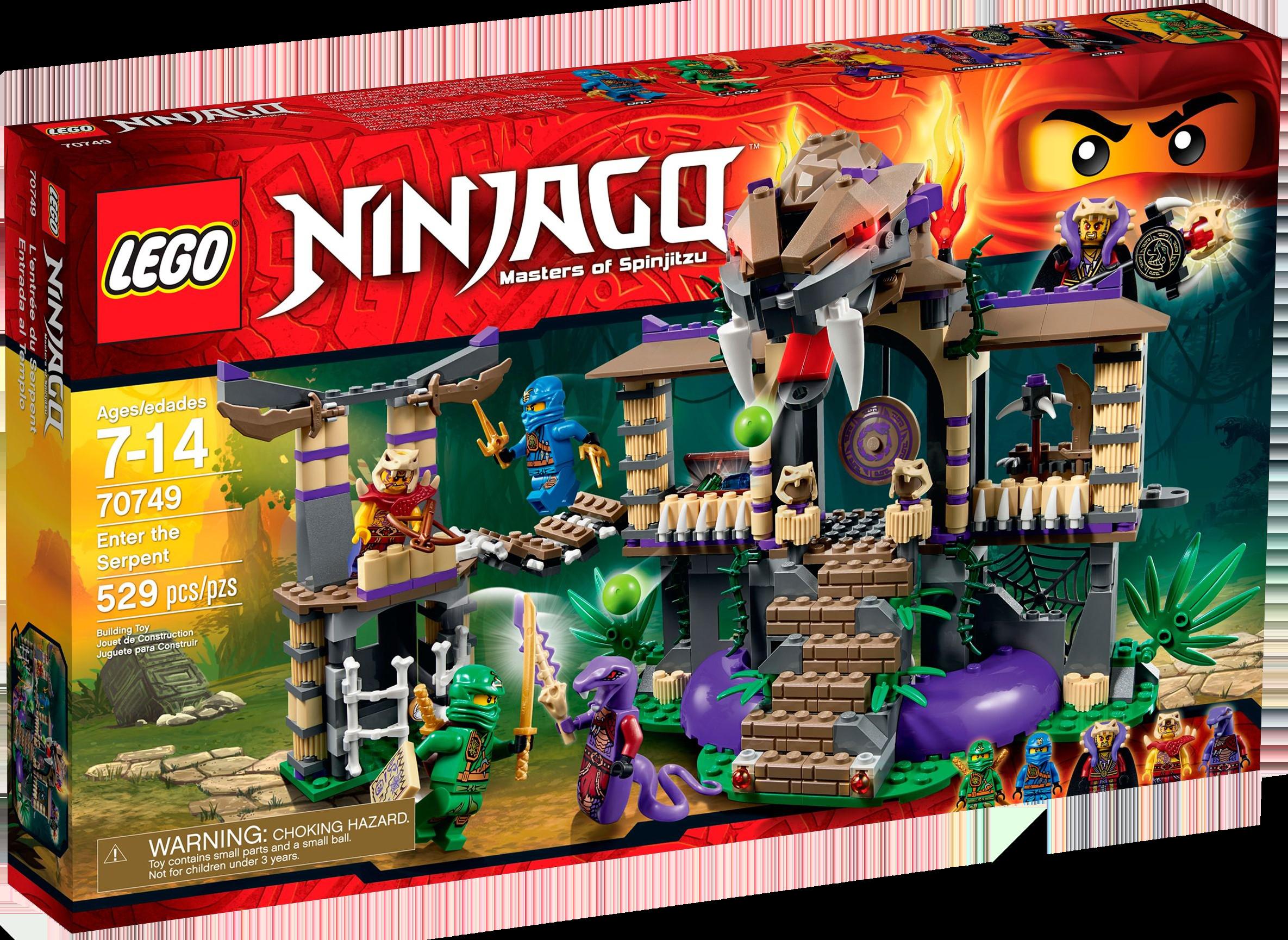 70749 Enter The Serpent Ninjago Wiki