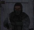 Командир найманців на дикій території