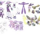Mega Man X8 Concept Art
