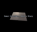 Sewer Caretaker, Andy's Diary