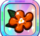 Tiger Lily Cookie's Jelly Flower Hairpin